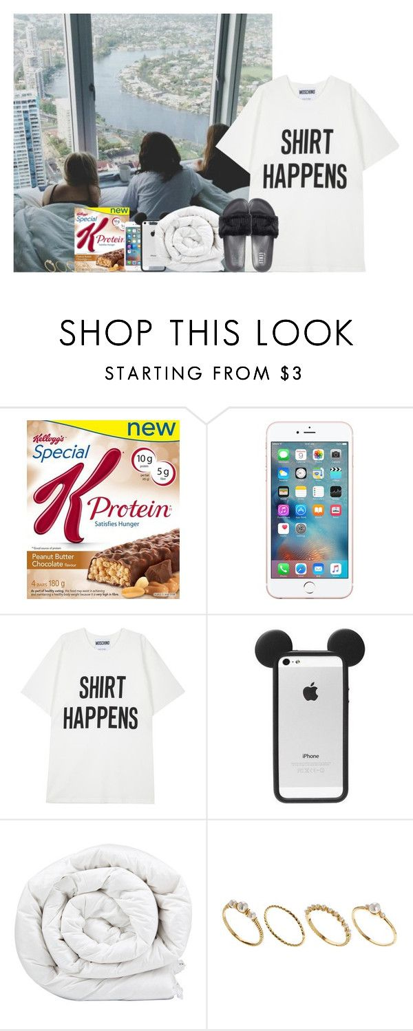 """""""wake up in vegas ▬ O4.1O.16"""" by allfictionlove ❤ liked on Polyvore featuring Moschino, Brinkhaus, ASOS and Puma"""