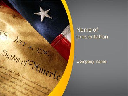 Httppptstarpowerpointtemplateusa declaration of usa declaration of independence presentation template toneelgroepblik Image collections