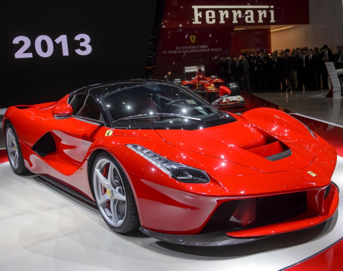Nice The Ferrari LaFerrari Is Easily The Most Expensive Hybrid On The Planet,  Offering A Top Speed Of Over 217 Mph That Uses Its Electric Engine To Push  It Over ...