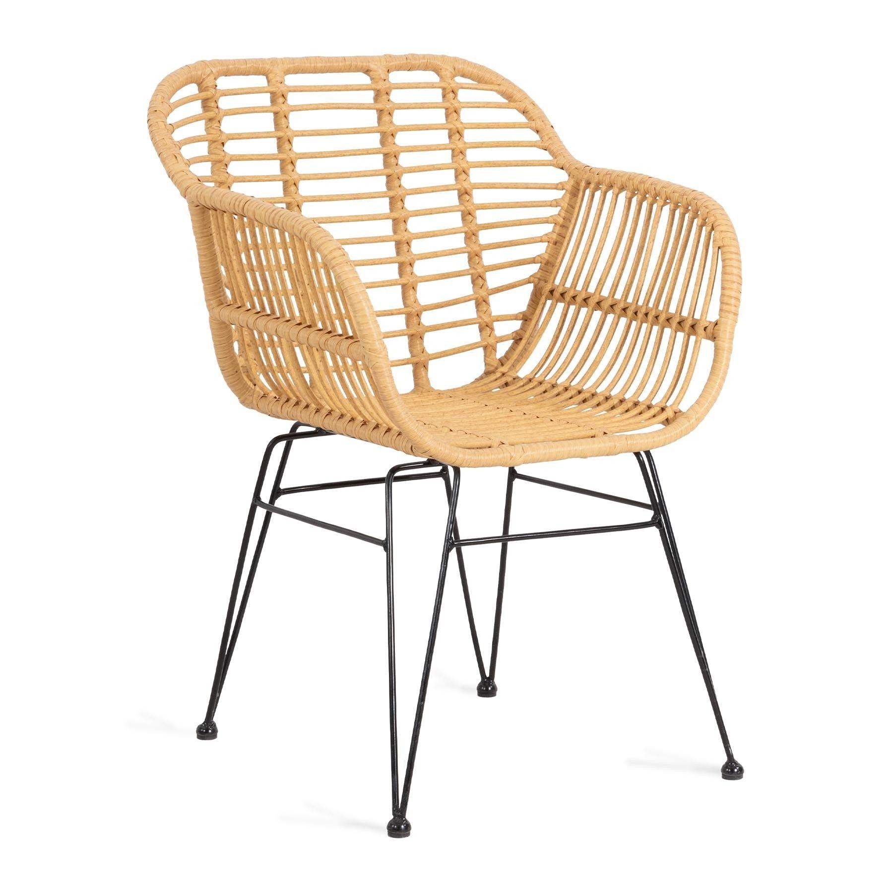Jardin Krzeslo Plecione Naturalne 43x80x45 Cm Homla Com Pl Outdoor Chairs Saucer Chairs Wicker Chair