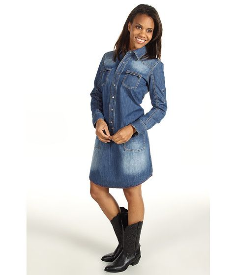 Ryan Michael The Helena Denim Dress