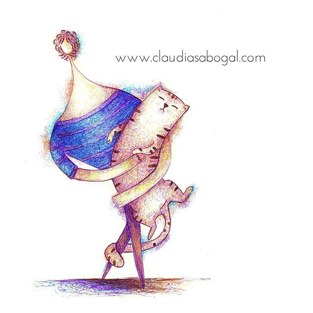 Color esferos. #illustration #gatos #animals #drawing #catsofinstagram #instaart #drawingpen #practice #catsofinstagram #cats #catslover #sketchbook #garabato #doodles #artist #colors #handdraw #love #amordegatos #modernart #esferos #pendrawing #instartist #instaartworks #instaartist #artoftheday #instaillustration #artcollector #artcollective #artofinstagram