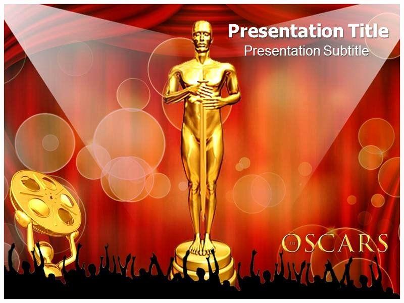 award certificate template powerpoint elegant oscar awards. Black Bedroom Furniture Sets. Home Design Ideas