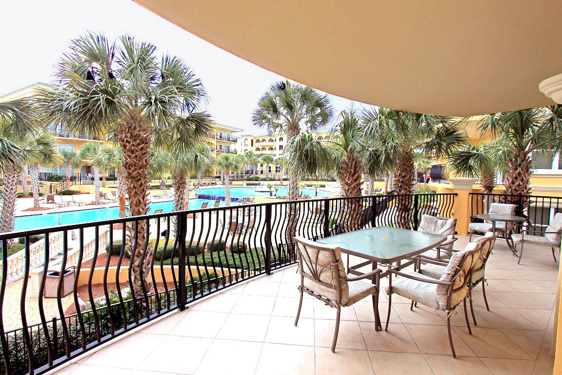 Adagio F205!  Spectacular 3 bedroom condo sleeps 12!  Gulf Front complex, pool-view condo!  RealJoy Free Fun Pass gives you 1 free ticket to daily activities and DVD Rentals!
