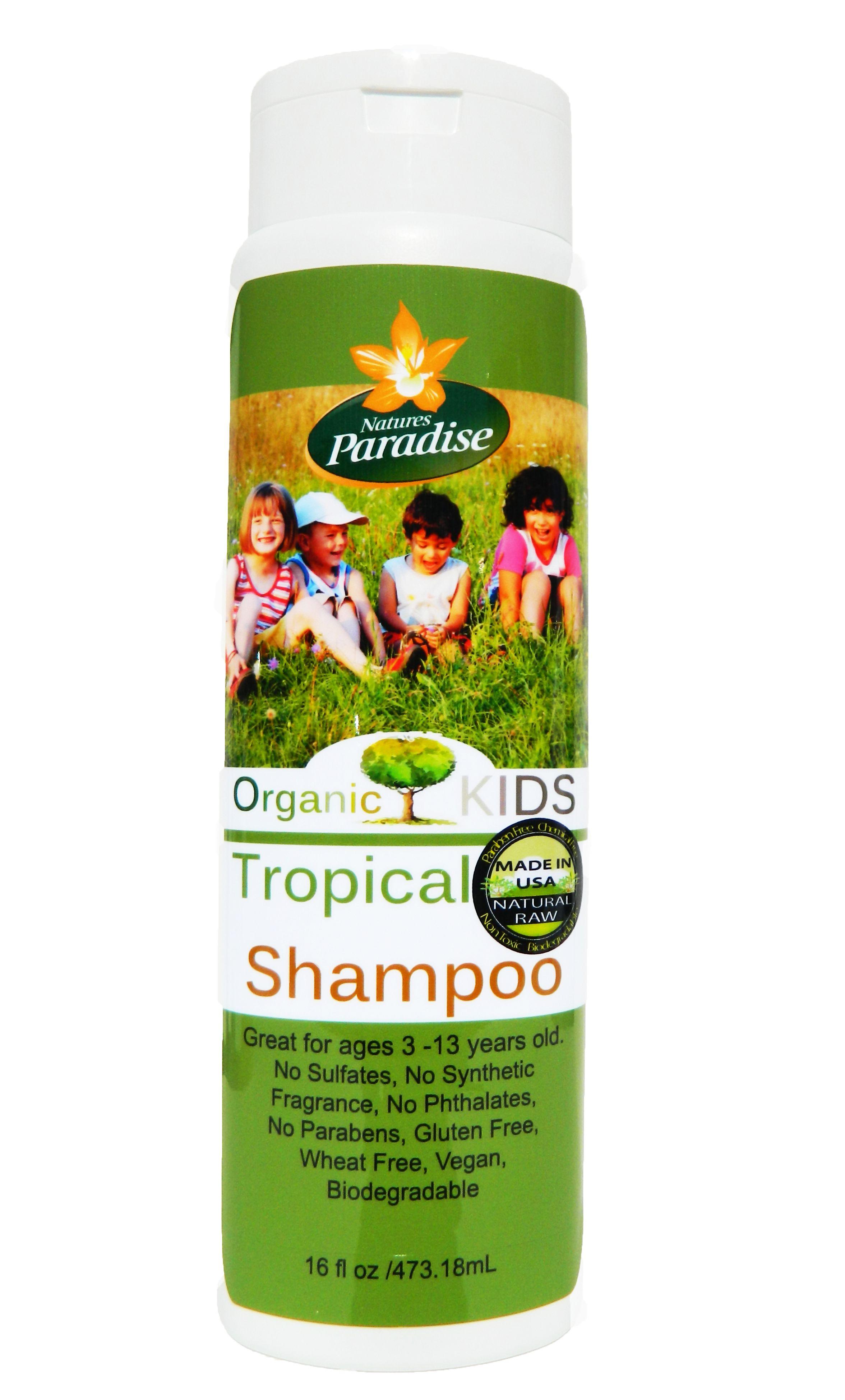 Organic KIDS- Sulfate Free Hair Shampoo 16oz