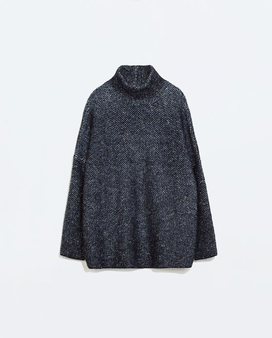 ZARA - WOMAN - OVERSIZE SWEATER