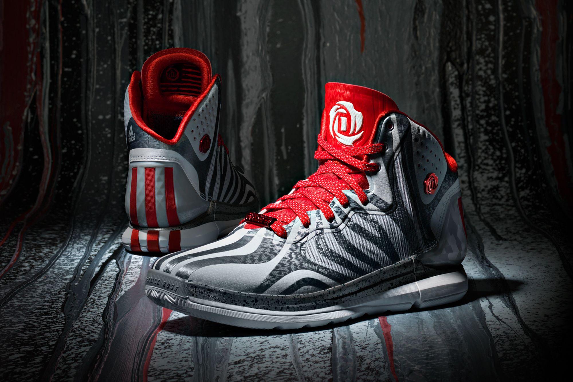 The adidas D Rose 4.5: Grey