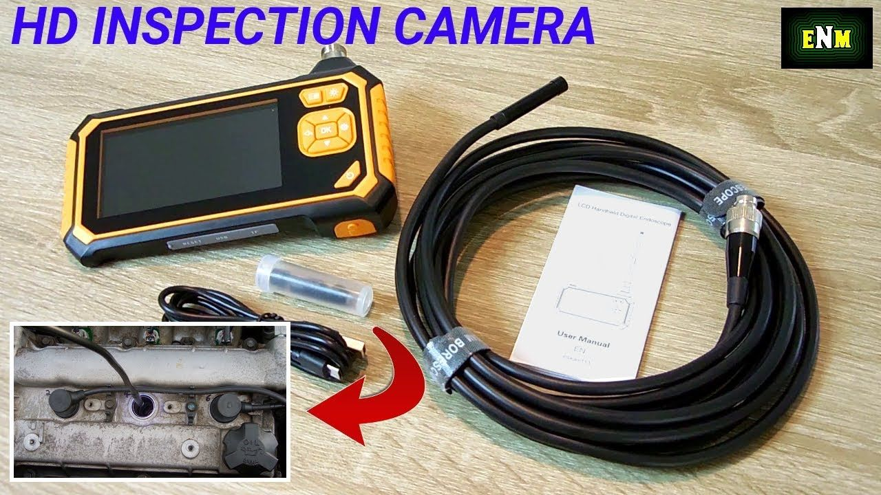 Affordable hd 1080p borescope inspection cameraengines