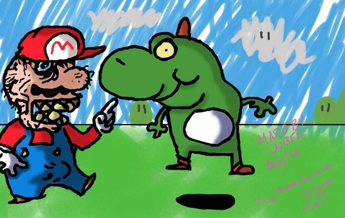 Mario And Yoshi Vinesauce Joel Meme Pictures Funny Comics Yoshi
