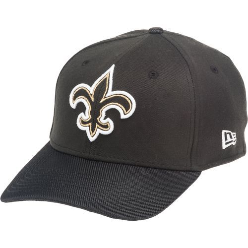 New Era Men s New Orleans Saints 39THIRTY Logo Line Cap