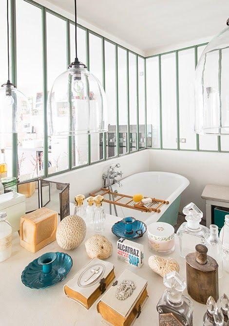 Inspiration déco salle de bain  la baignoire sabot Interior