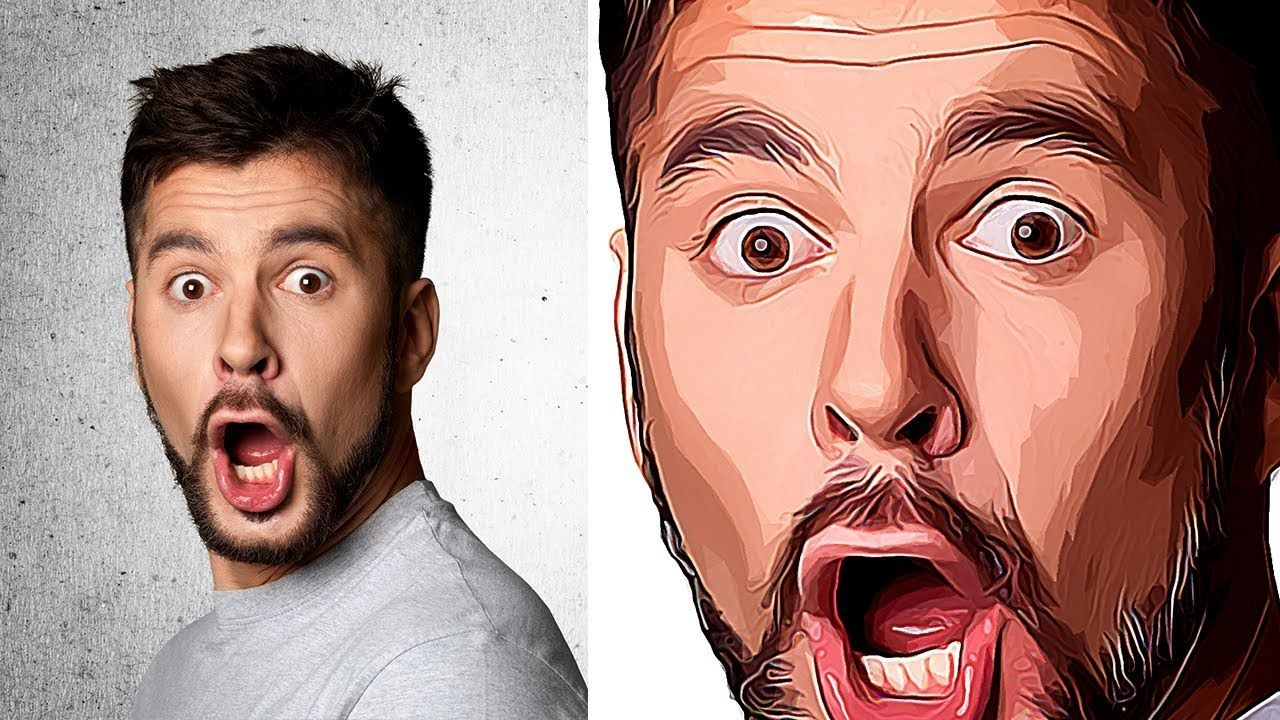 How to Make Vector Art Effect in (Without Pen