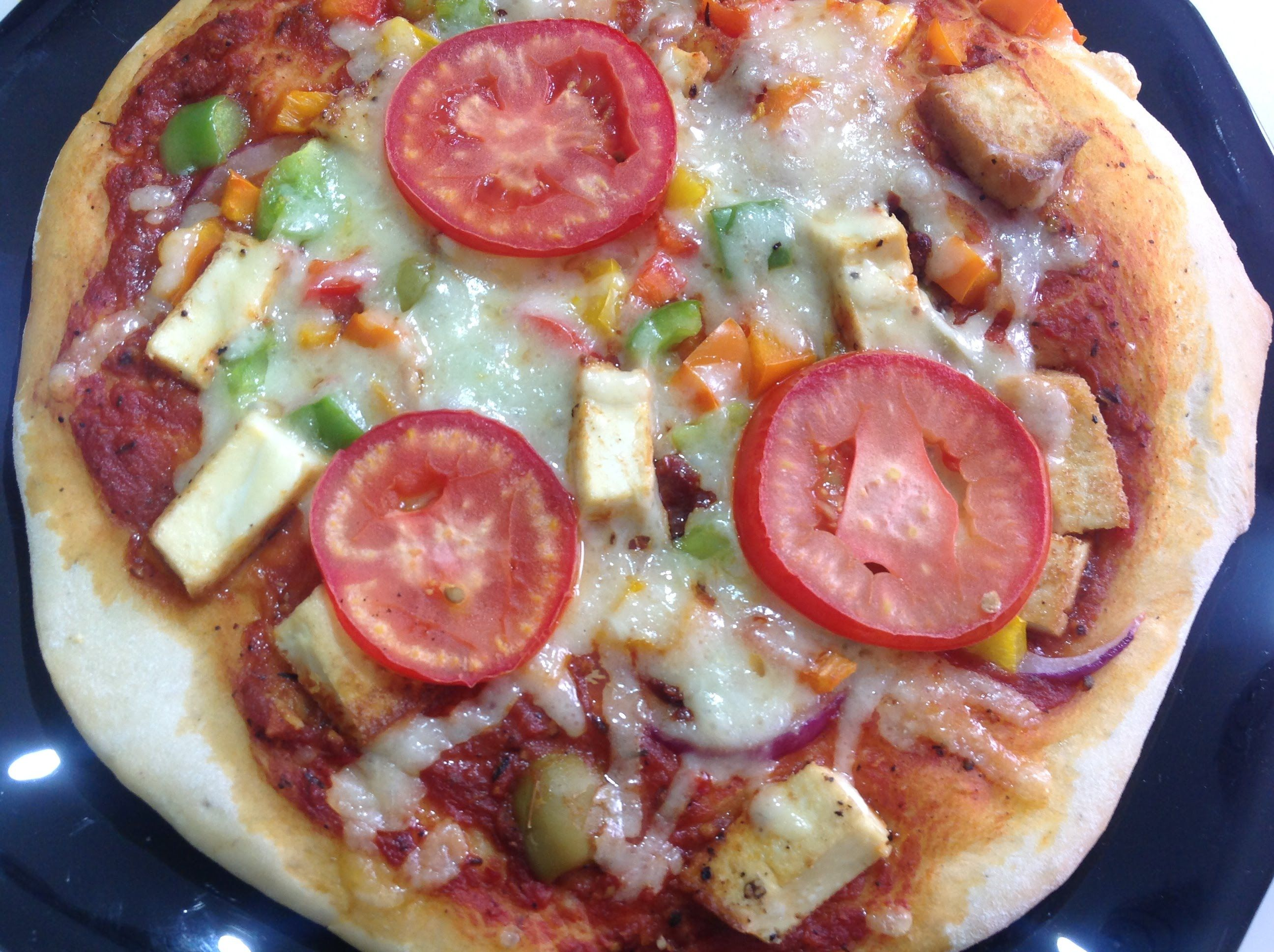 طريقة عمل بيتزا صيامى Vegetarian Recipes Recipes Vegetarian