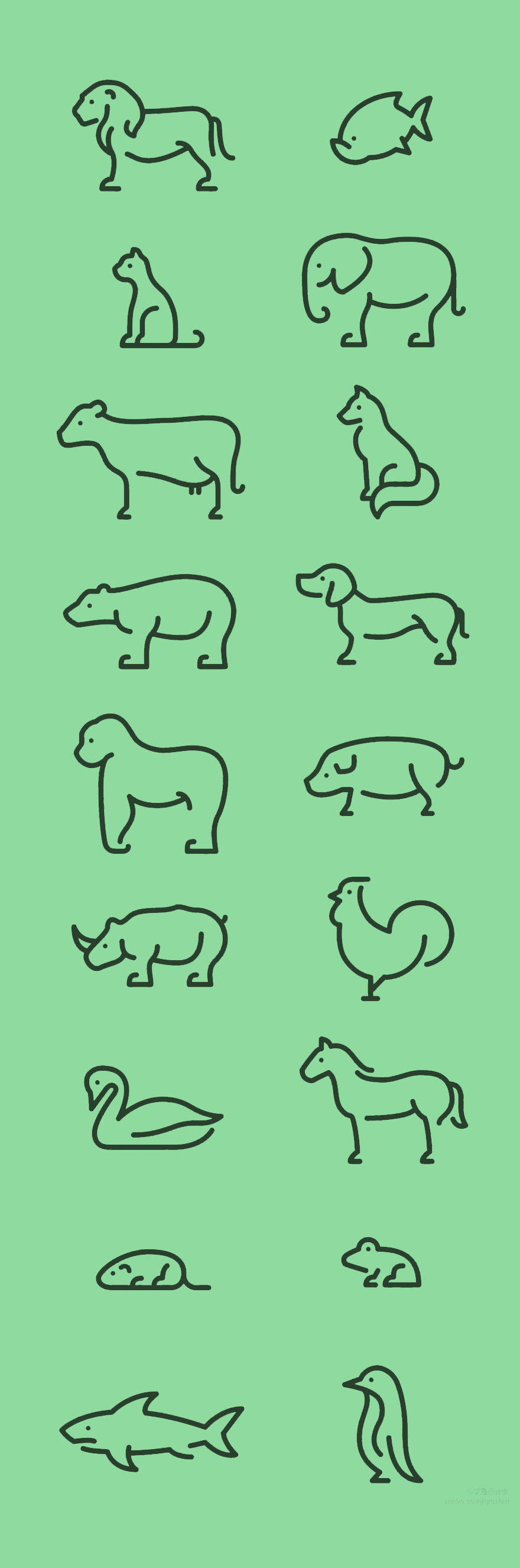 Icons of the week #49 | Tattoo, Animal and Hennas