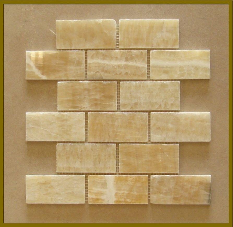 Honey Onyx Subway Tile