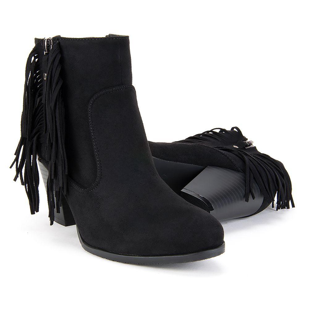 Botki Filippo Czarne Fredzle Boots Ankle Boot Shoes