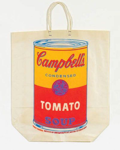 Campbell S Soupcan On Shopping Bag No Edition Null Http Www Amazon Com Dp B00eour2pi Ref Cm Sw R Pi Dp N7 1ub07bxpa Warhol Andy Warhol Andy Warhol Soup Cans