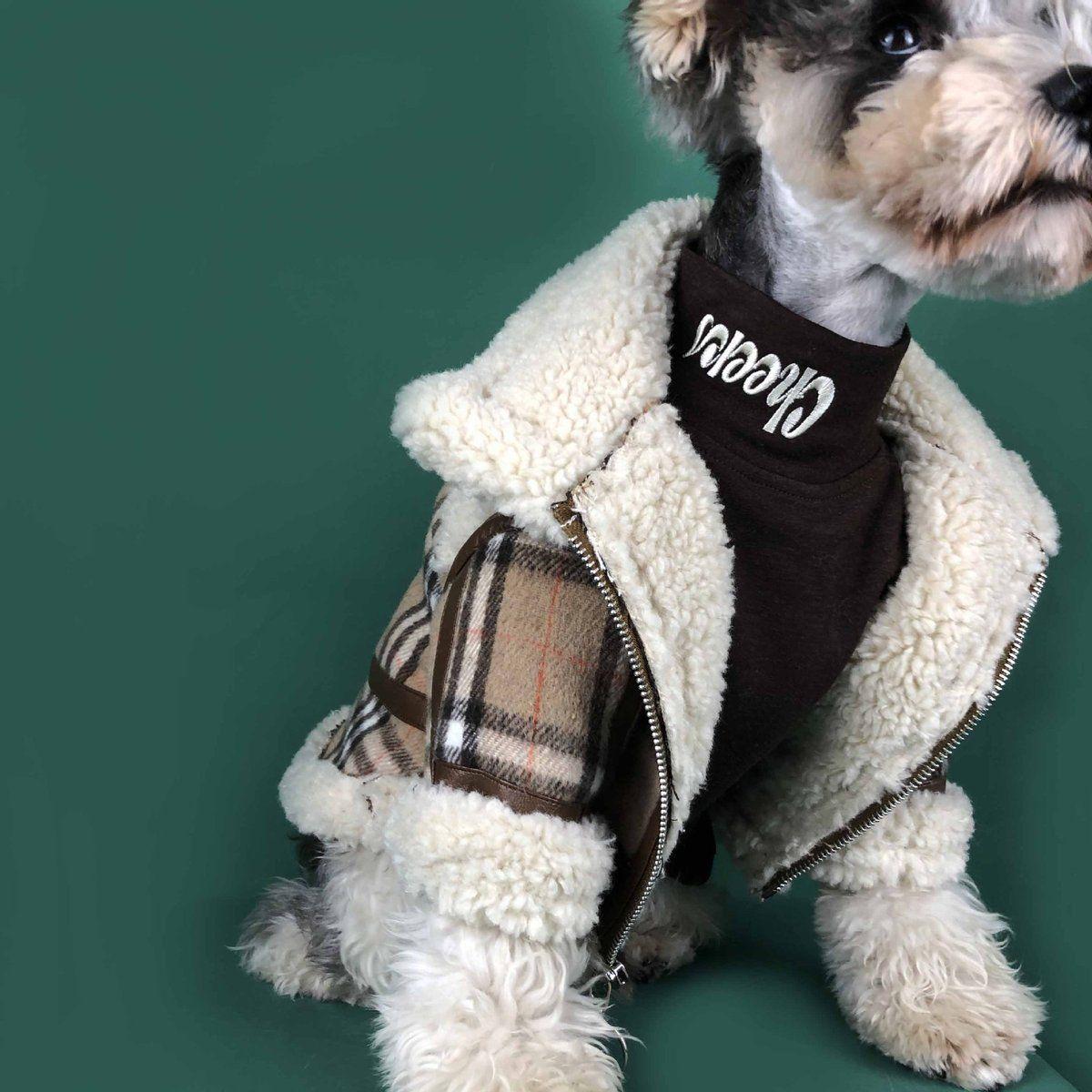 Buberry Dog Advanced Jacket Super Warm W100 Dog Coats Pet Costumes Dog Winter Coat