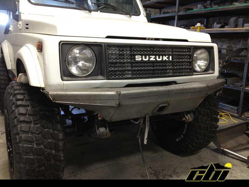 Suzuki Samurai Tubular Front Bumper Ideas