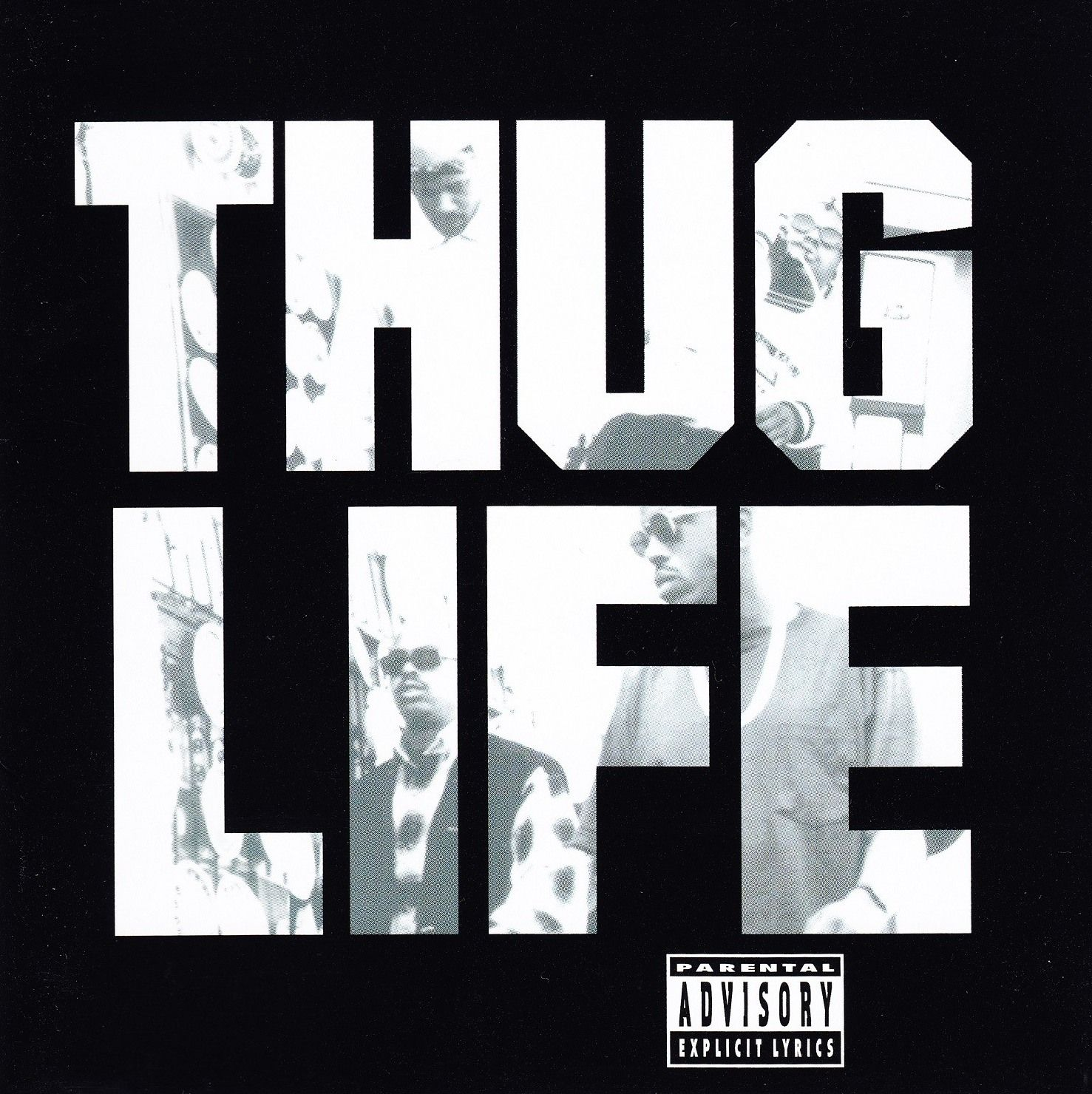 Thug Life - 2Pac | 90's Rap & HipHop Album Cover Art ...