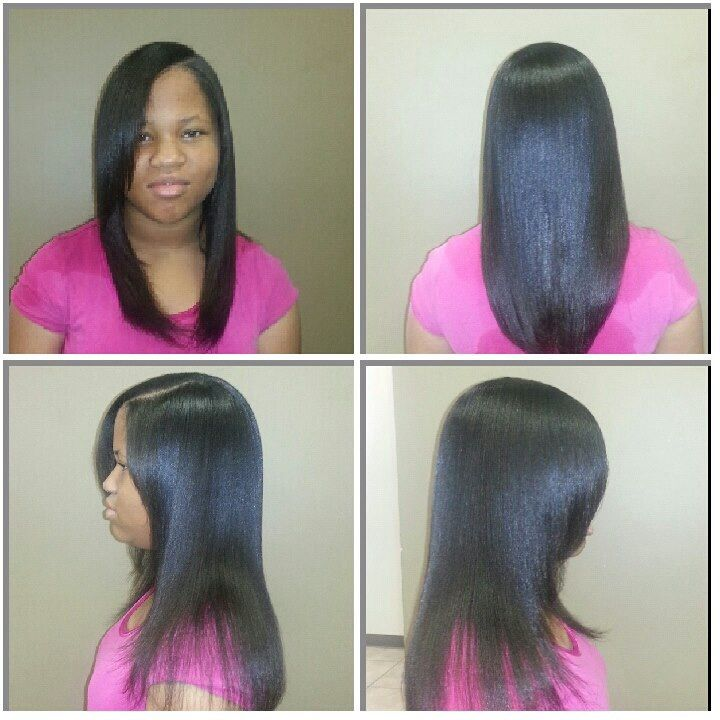 Healthy relaxed hair | Relaxed hair, African hairstyles