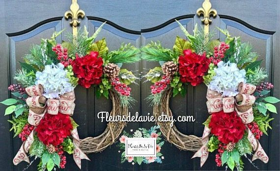 NEW! Christmas Wreath, Double Door Wreaths, Wreaths for Door, Christmas Door Wreath, Holiday Wreaths, Seasonal Wreaths #doubledoorwreaths Excited to share this item from my #etsy shop: NEW! Christmas Wreath, Double Door Wreaths, Wreaths for Door, Christmas Door Wreath, Holiday Wreaths, Seasonal Wreaths #doubledoorwreaths
