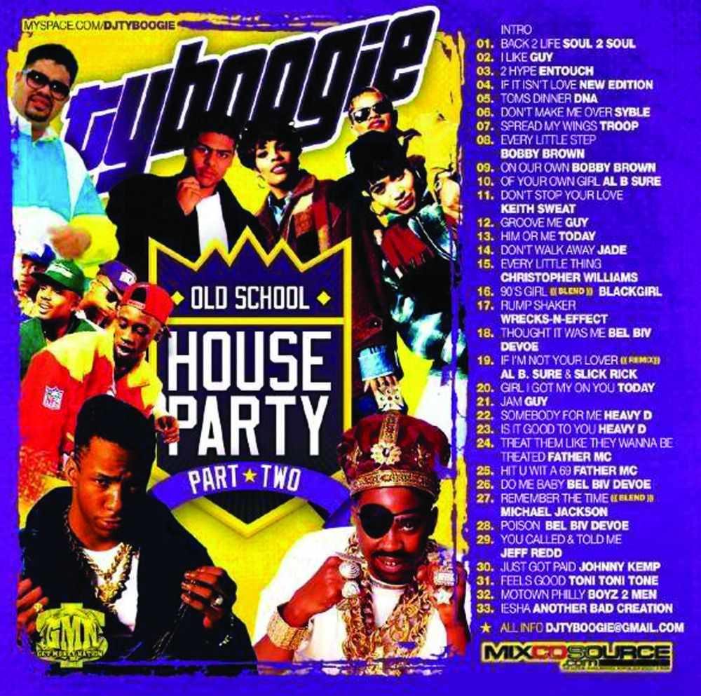 "DJ TY Boogie ""House Party Pt.2″ (Classics 80's Soul, Funk"
