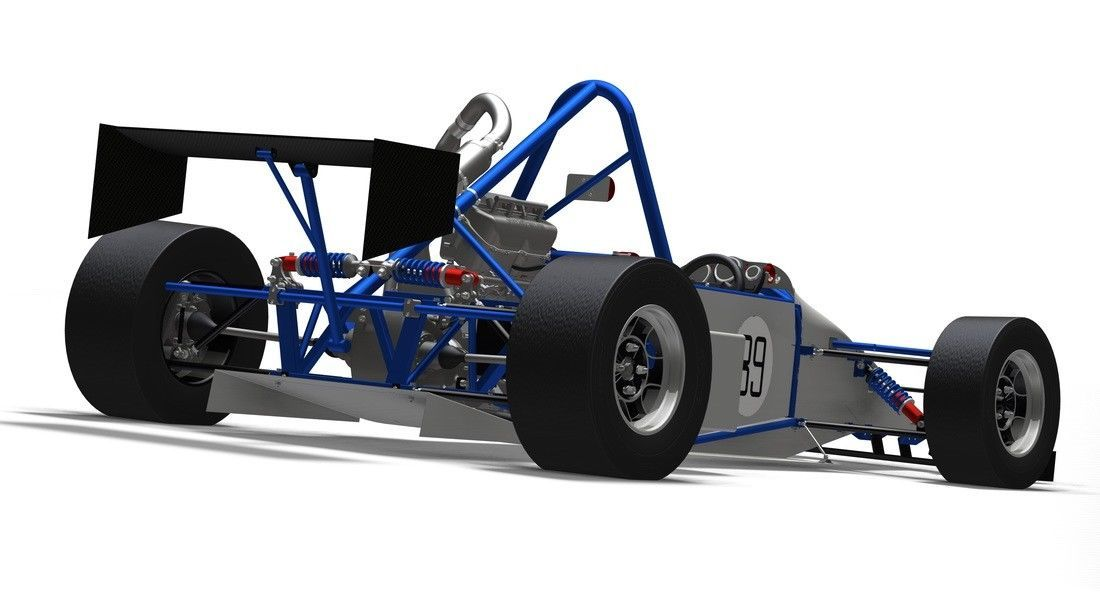 T89 Designs Single Seater Locost Racecar
