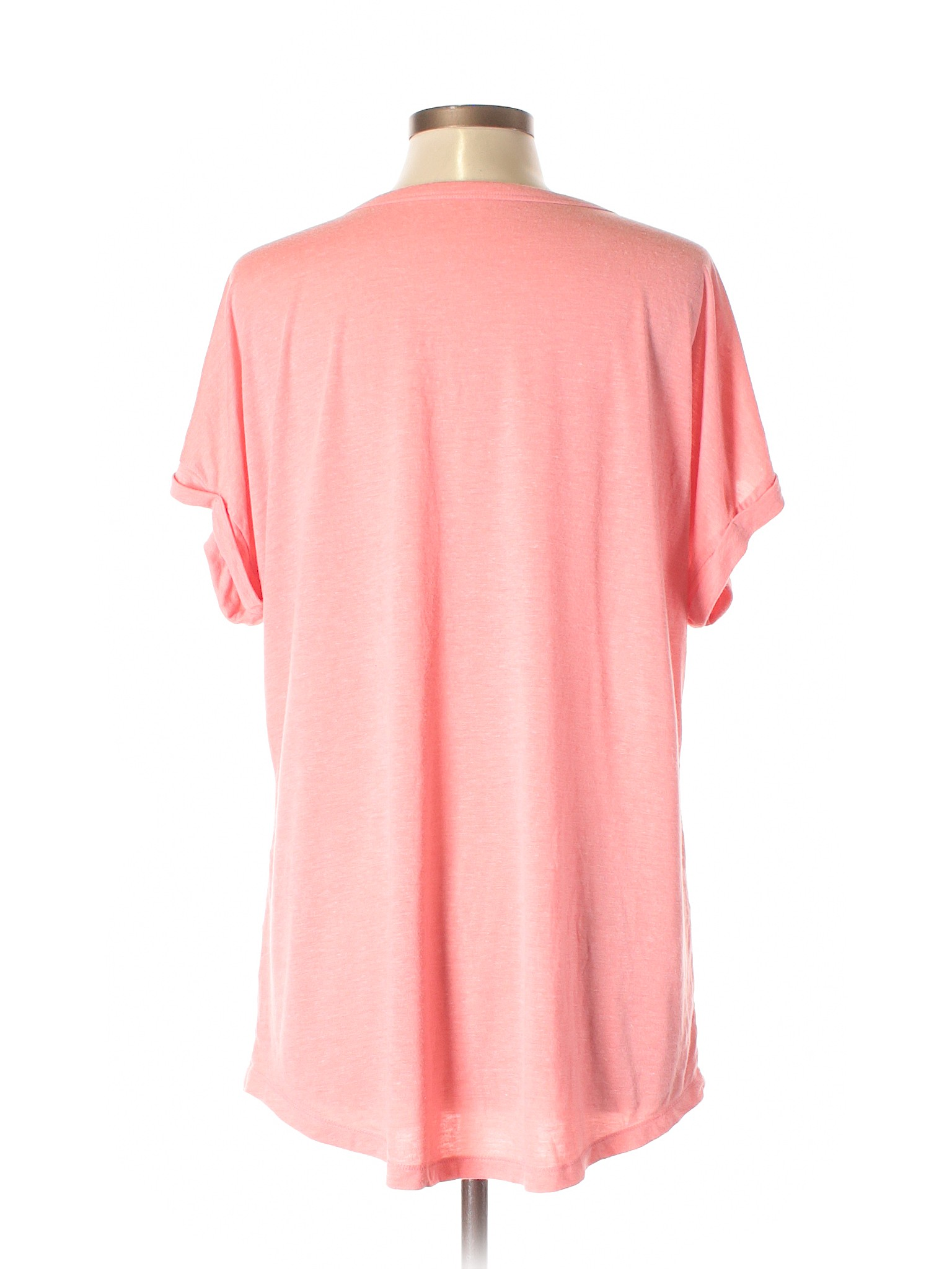 Old Navy Short Sleeve T Shirt Size 1200 Pink Womens