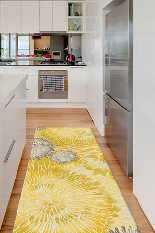 2.5'x7' washable area rug runners for kitchen, bathroom