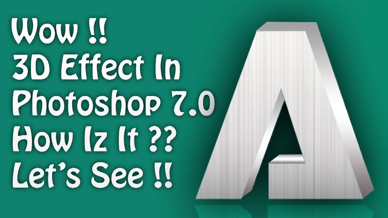 Photoshop 3d text tutorial choice image any tutorial examples photoshop tutorial 3d text effect in photoshop 70 text photoshop tutorial 3d text effect in photoshop baditri Choice Image