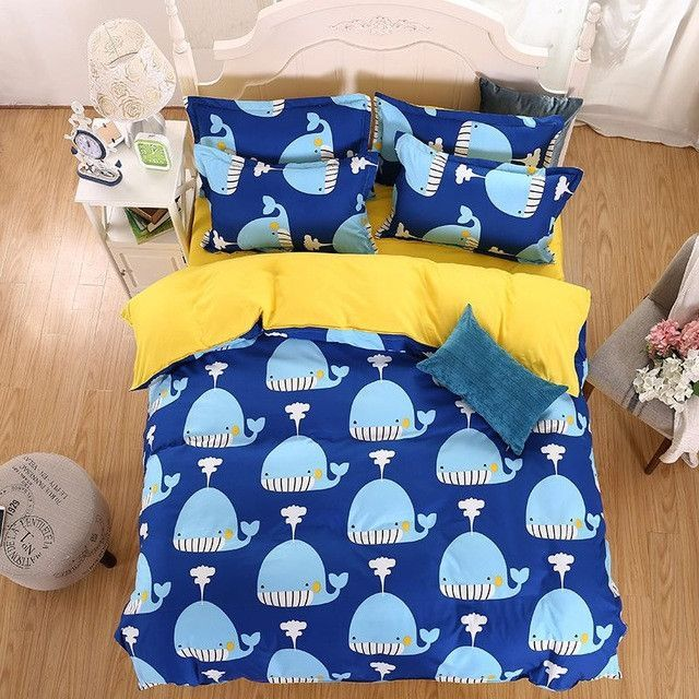 New Fashion Bedding Set 4pcs/3pcs Duvet Cover Sets Soft