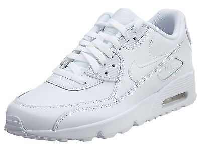 low priced 016fb 05a66 Nike Air Max 90 Ltr Gs Big Kids 833412-100 White Athletic Shoes Youth Size  6.5