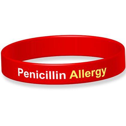 Penicillin Allergy Allergy Alert Bracelet
