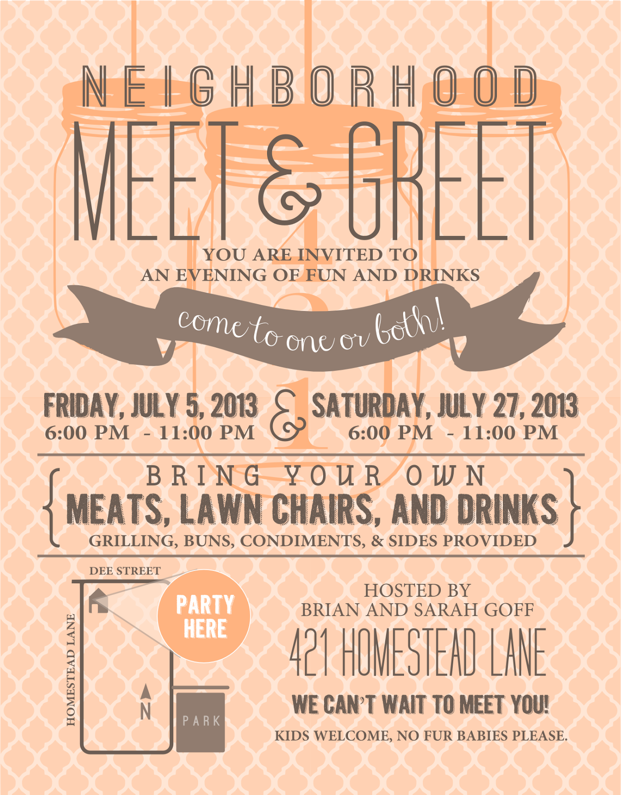 Signatures by Sarah: { MEET N GREET PARTY } invitation and REAL ...