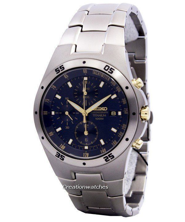 the latest d02cc ba2c1 Seiko Titanium Mens Watch|SGG729P1|SGG731P1|SND419P1 ...