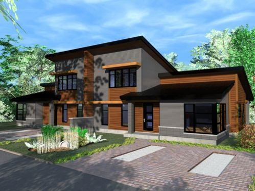 jumel e maisons jumel es pinterest jumel e plans maison et plans. Black Bedroom Furniture Sets. Home Design Ideas