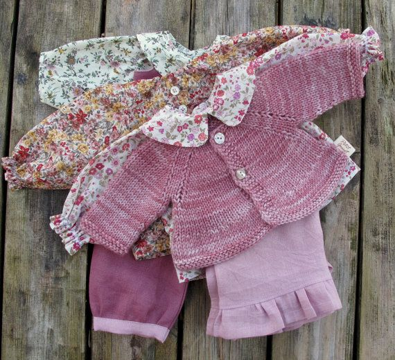 Classic waldorf doll clothes from nobbyorganics on etsy