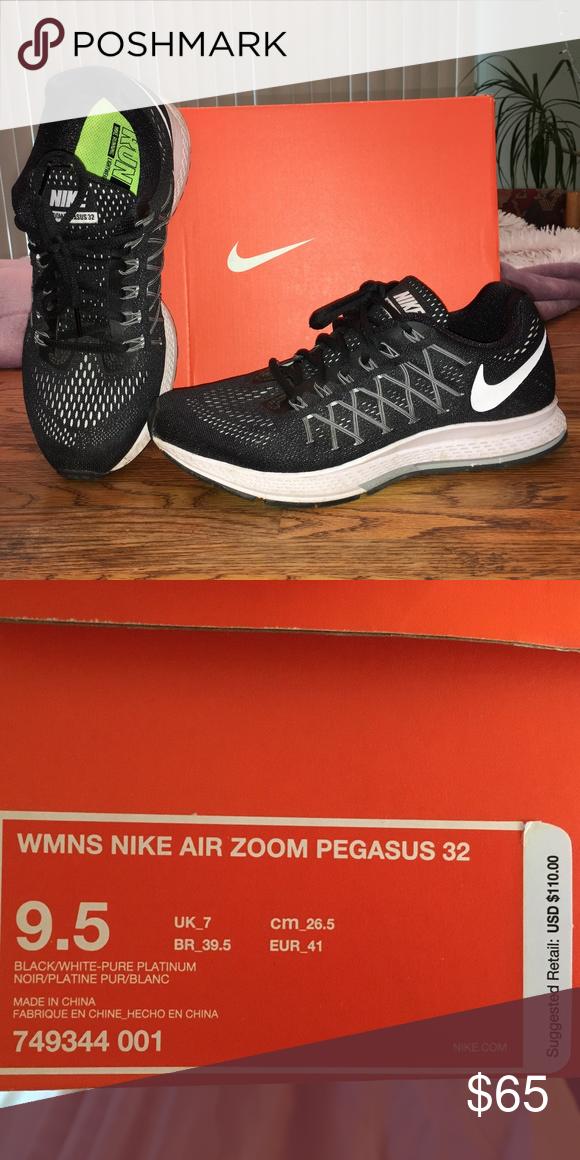 meilleures baskets 15d6b 8e6bb Nike Air Zoom Pegasus 32 sz 9.5 Worn a handful of times ...