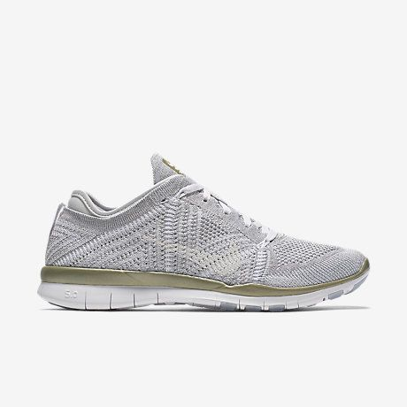 nike free flyknit tr 5 metallic womens training shoes