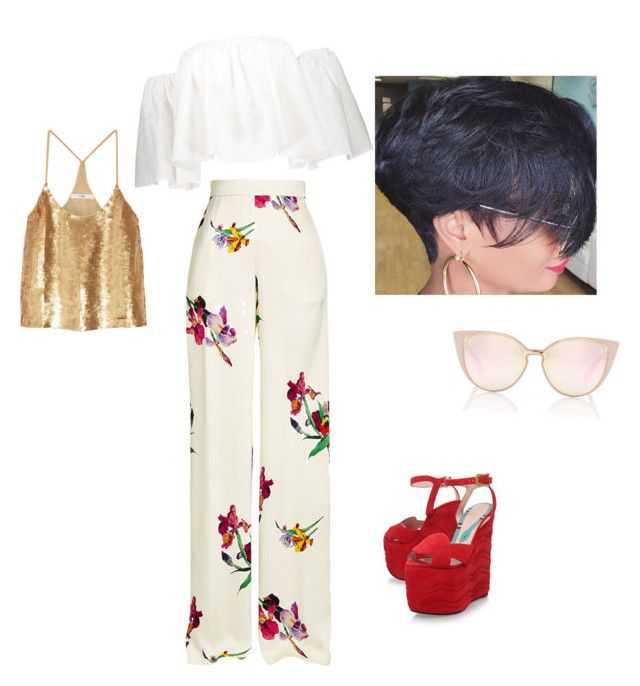 """Untitled #22"" by imani-ciera on Polyvore featuring Etro, TIBI and Gucci"