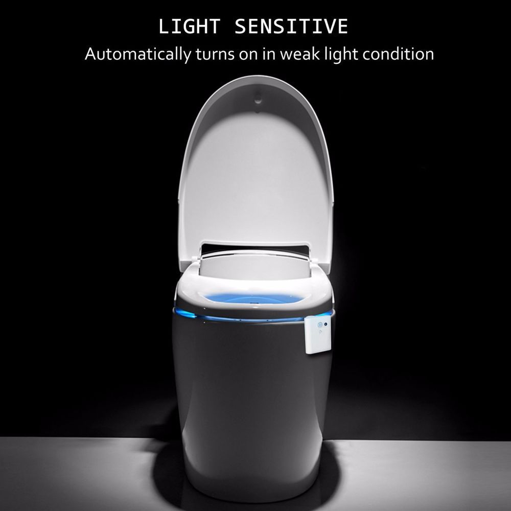 Led Toilet Bathroom Night Light Human Motion Activated Seat Sensor