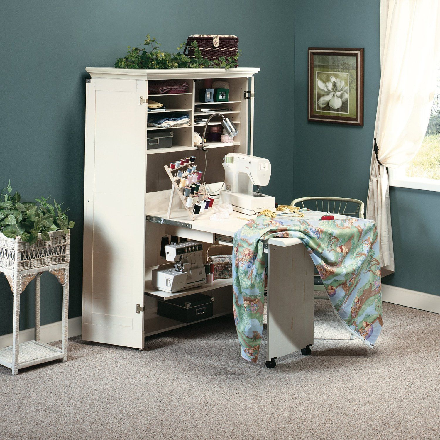 If Sewing Is You Pion There No Better Choice Than This Machine Cabinet