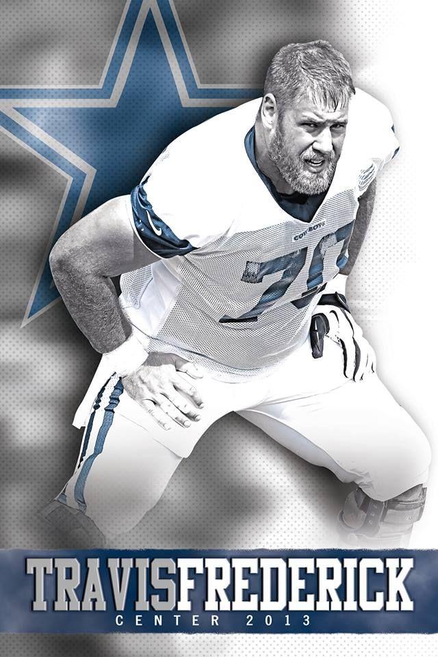 NFL Jersey's Pro Line Men's Dallas Cowboys Travis Frederick Team Color Jersey