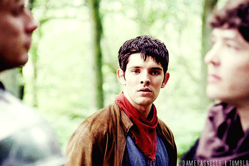 I loved how un-trusting Merlin was to Mordred, overly