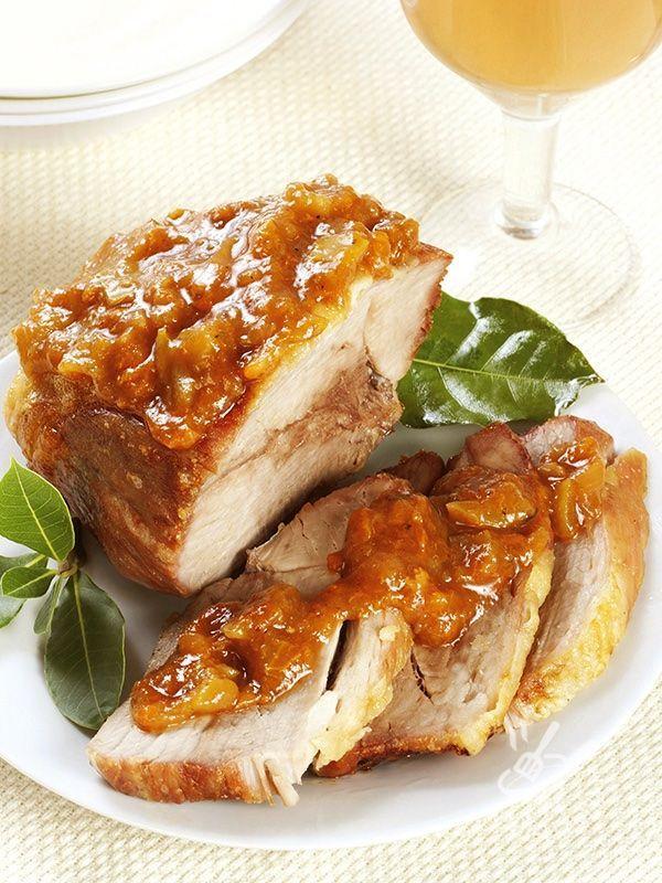 Photo of Genoese roast-Arrosto alla genovese  Roast veal in onion sau…