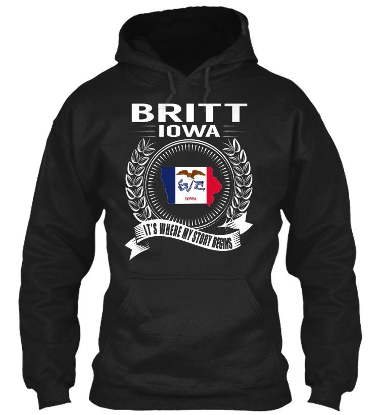 Britt, Iowa - My Story Begins