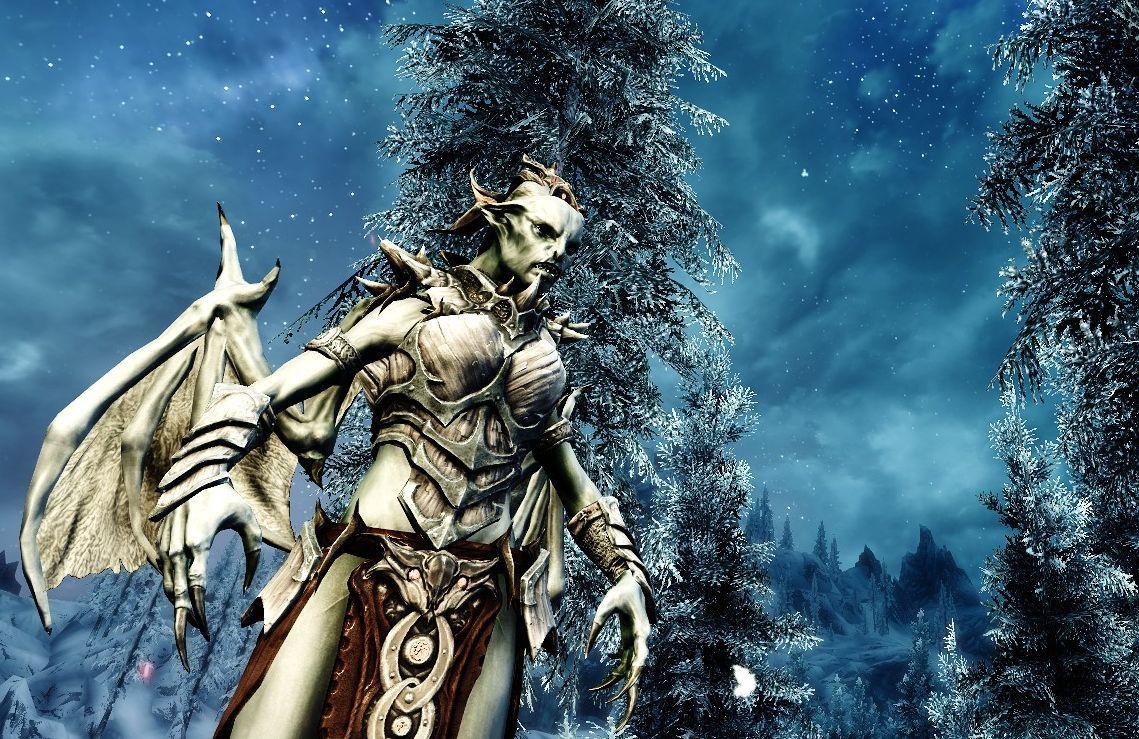 Grimoas Vampire Lord At Skyrim Nexus Mods And Community Skyrim Vampire Skyrim Nexus Mods Skyrim