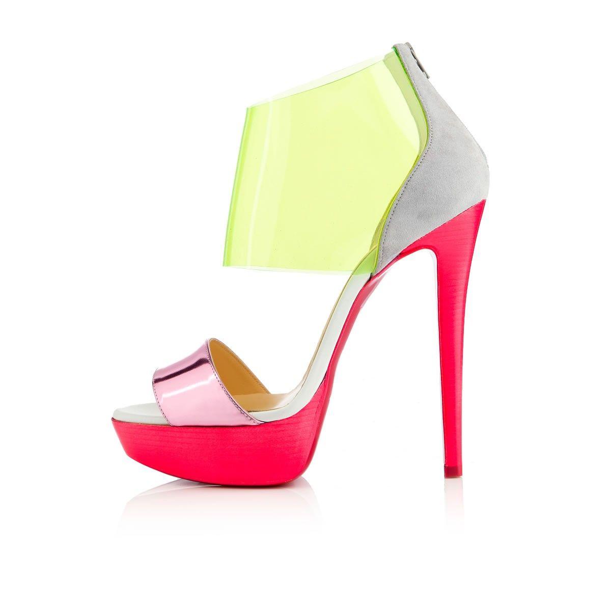 Pink dress shoes for ladies  DUFOURA PVC Rose Paris Souliers pour femme shoes
