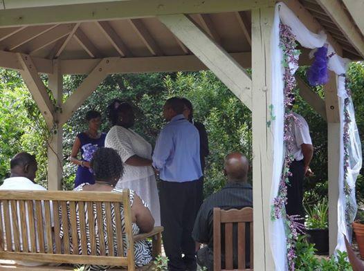 Wedding In Williamsburg Botanical Garden  Http://www.williamsburgbotanicalgarden.org/wordpress